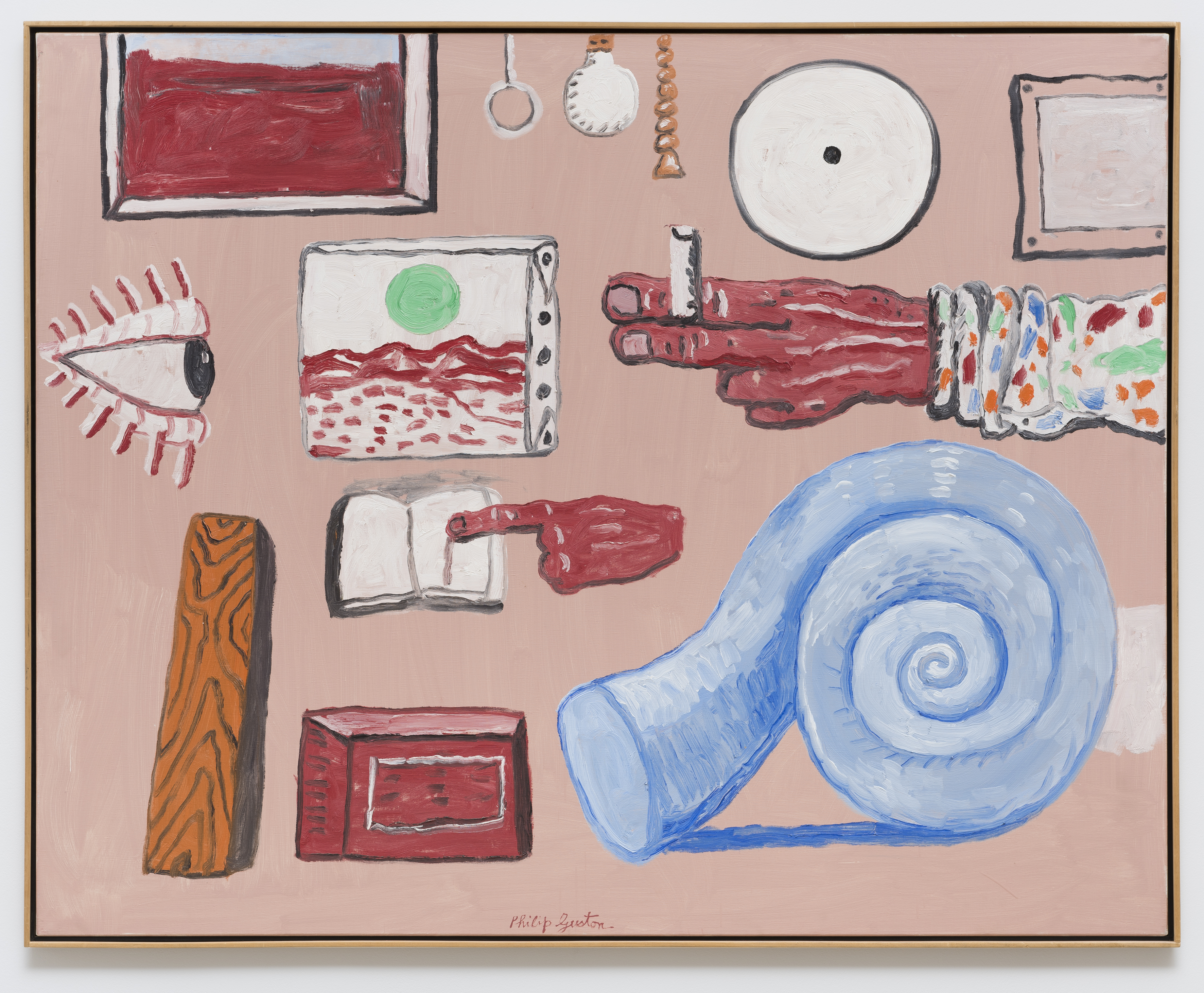 guston dating Painting is an illusion, a piece of magic, so what you see is not what you see philip guston best known as an american abstract expressionist painter but also a.