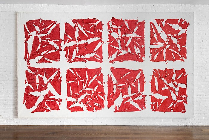 On View: Simon Hantaï, Tabula, 1980