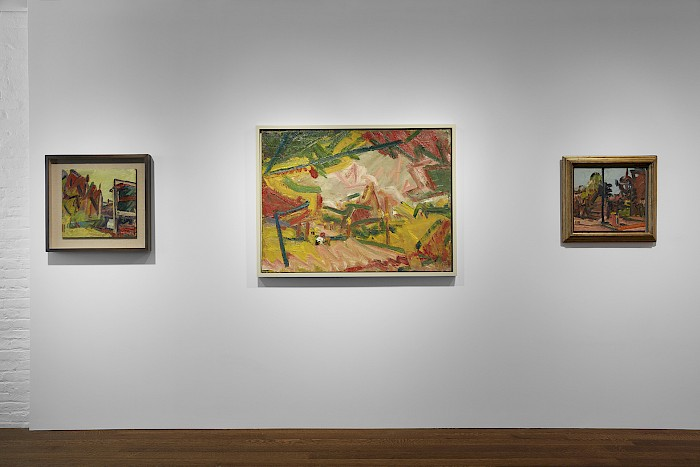 Frank Auerbach: Landscapes and Portraits