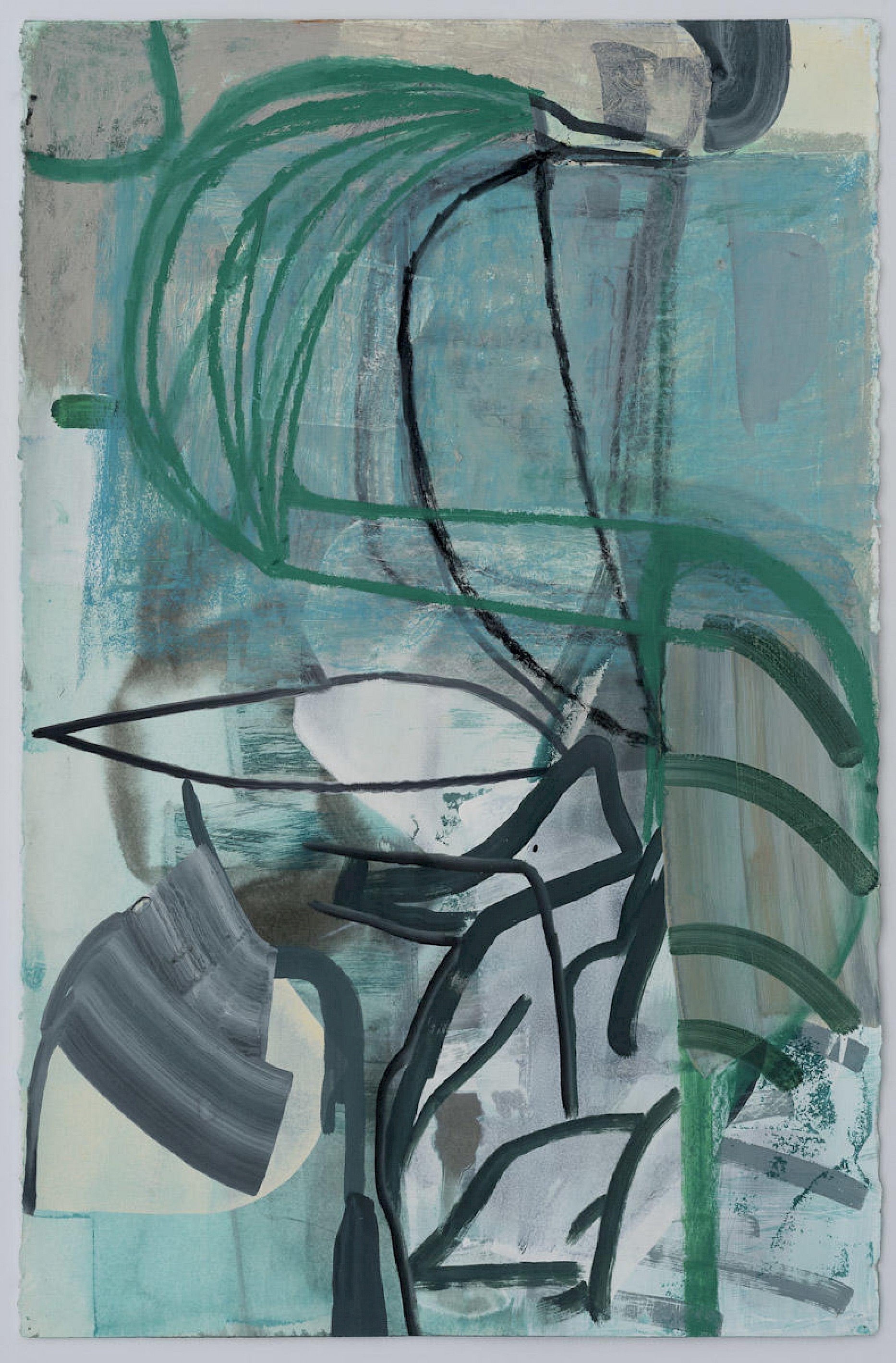 T0012156 Amy Sillman Untitled, 2019