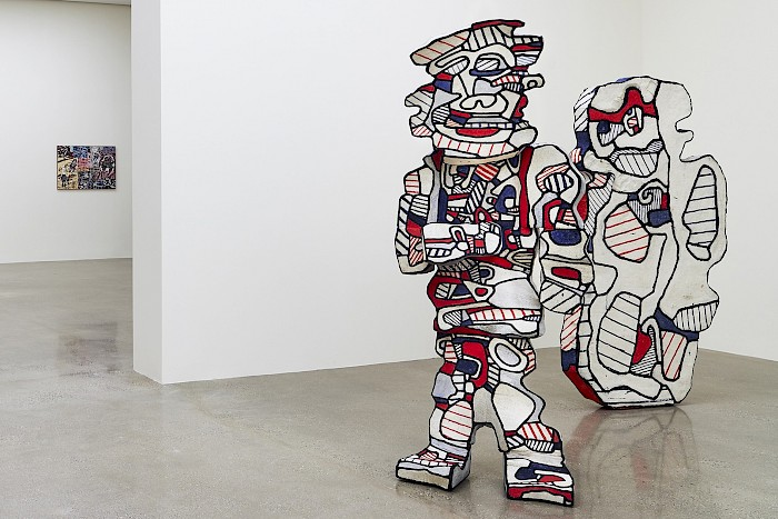 Dubuffet: late paintings
