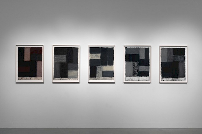 Sean Scully: Kind of Red